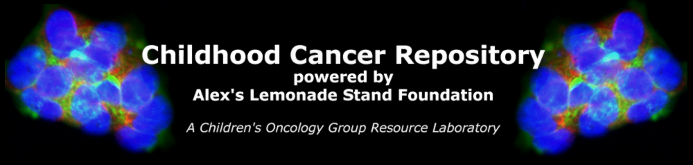 Childhood Cancer Repository Logo
